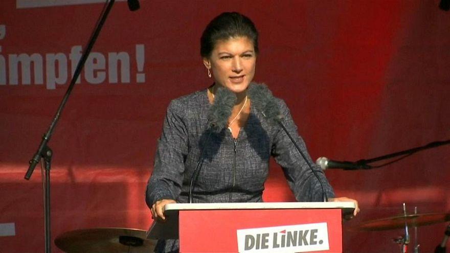 """""""Einfach mal die Klappe halten"""": Kritik an Sahra Wagenknecht wegen Unteilbar-Demo"""