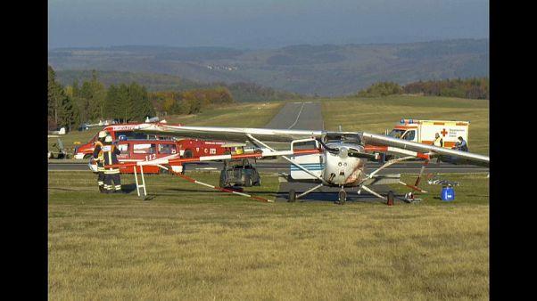 سه کشته در پی سقوط یک هواپیمای سبک در ایالت هسن آلمان