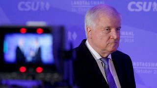 Coube a Horst Seehofer assumir a perda da maioria da CSU na Baviera