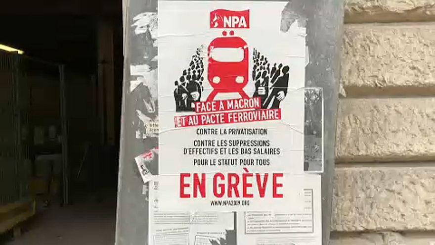 Lo sciopero attivo dei ferrovieri francesi