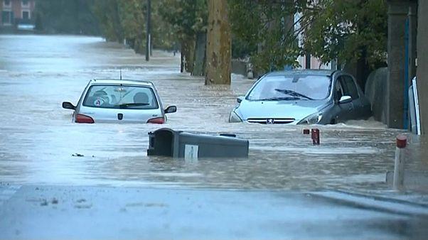 Fransa'nın güneyinde sel baskını: En az 7 ölü, 5 yaralı