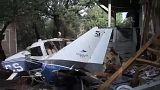 Lakóházra zuhant egy repülőgép
