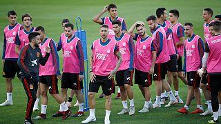 España se enfrenta a una Inglaterra en guardia