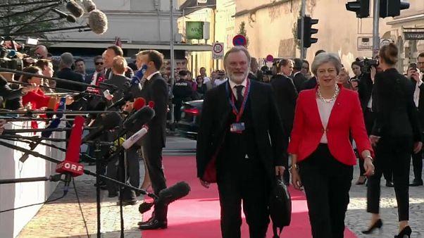 Semana clave para Theresa May en las negociaciones del Brexit