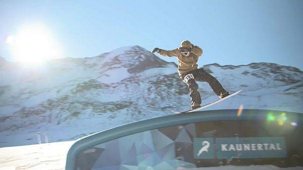 Es wird Winter: Neuer Snowpark im Kaunertal eröffnet