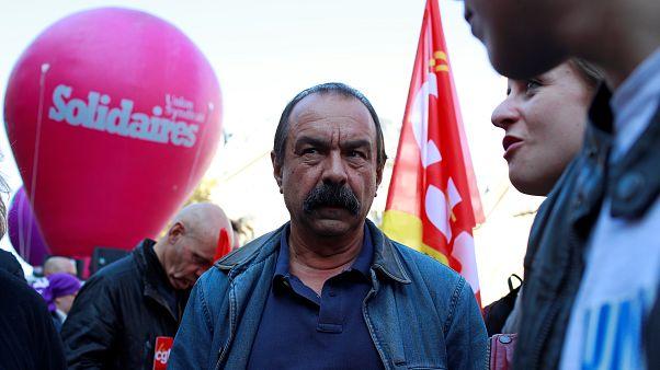Kritik an Macrons Reformen durch Frankreichs Gewerkschaft CGT