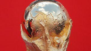Moskau: Vorfreude der Besucher auf den Startschuss der WM 2018