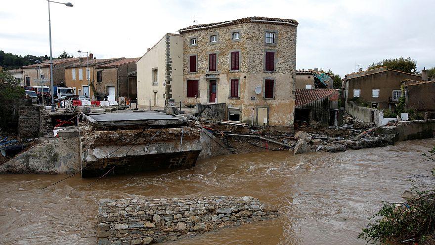 Már tíz halottja van a dél-franciaországi áradásoknak