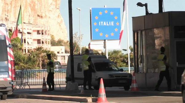Egyre nő a feszültség  francia-olasz határon a menekültek miatt