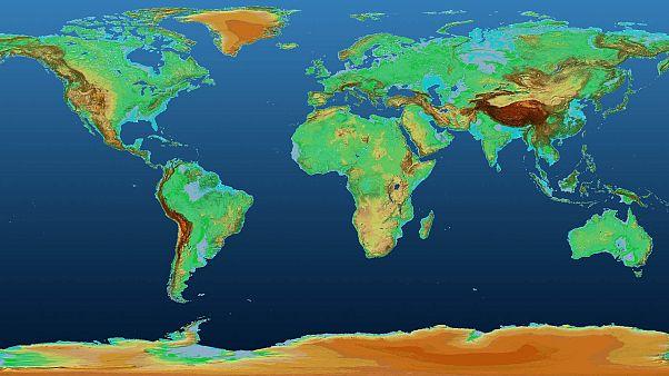 Un espectacular mapa en 3D muestra inauditas imágenes de la Tierra