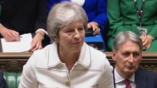Watch: Theresa May makes statement on Brexit in UK Parliament