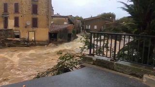 Doce muertos por las inundaciones en el sur de Francia
