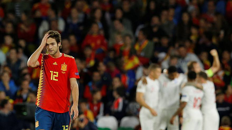 Liga de las Naciones: Inglaterra baja de la nube a España