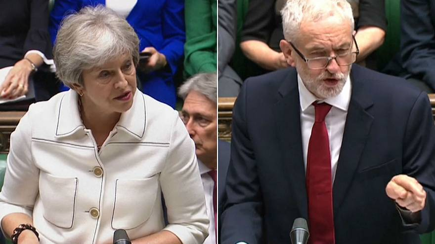 Watch: May v Corbyn on the state of Brexit Negotiations