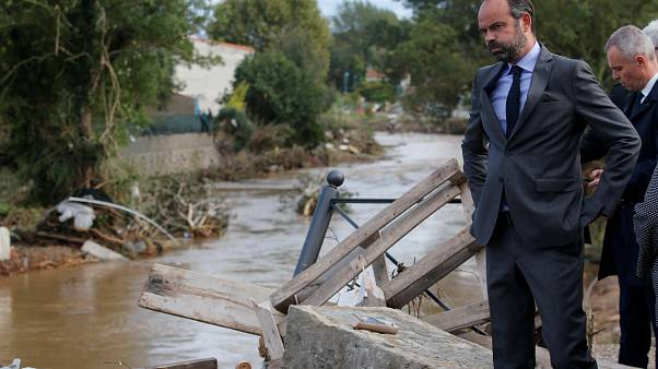 Al menos 11 muertos y 2 desaparecidos por las inundaciones en Francia