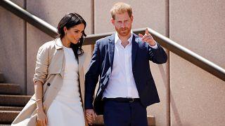 Primeira visita real de Harry e Meghan ao exterior