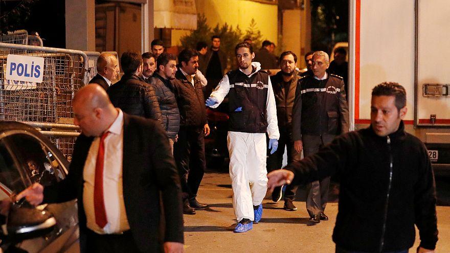 Polícia turca esteve nove horas no Consulado saudita