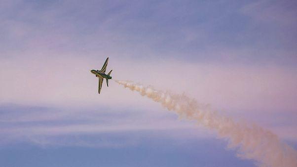 Suudi savaş uçağı düştü: Mürettebattan kurtulan olmadı