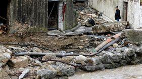 سیل در جنوب فرانسه ۱۱ کشته بر جا گذاشت