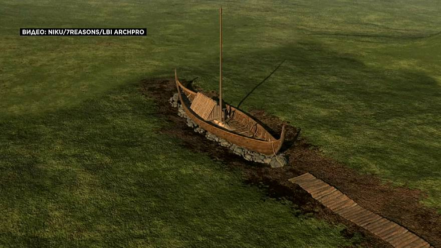 Les restes d'un bateau viking découverts en Norvège