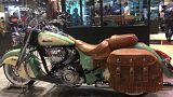 آلبوم عکس؛ از بازگشت موتور گازی تا نسل جدید موتورسیکلتها در نمایشگاه پاریس