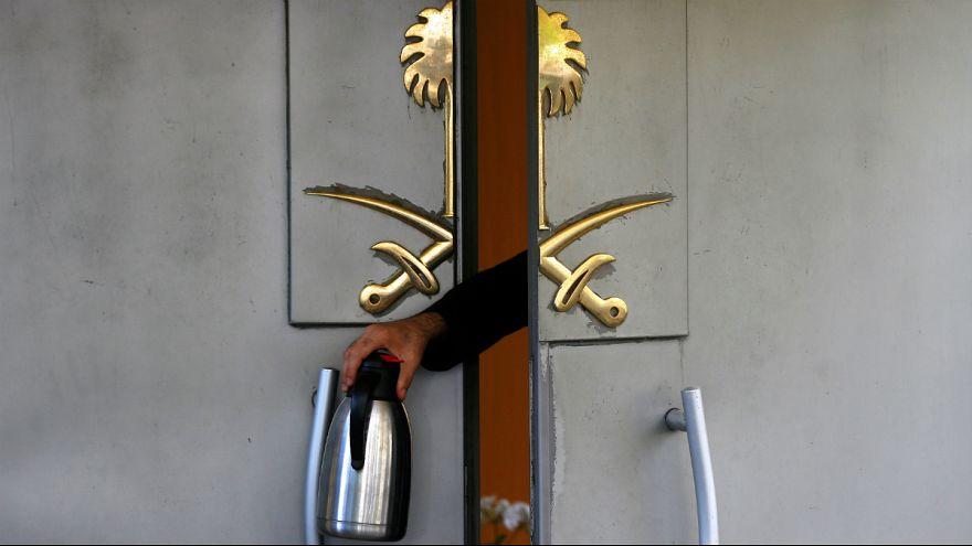 اردوغان: وسایل کنسولگری عربستان در استانبول از نو رنگ شده است