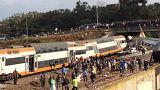 مقتل أكثر من 10 وإصابة العشرات في خروج قطار عن القضبان بالمغرب