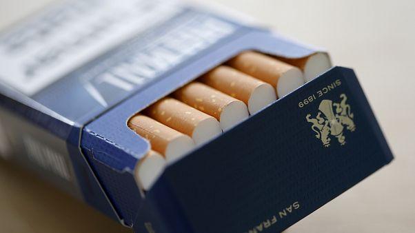 Egyre jobban csökken a cigarettatermelés világszerte