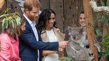 Ausztráliában kapta meg első babaváró ajándékát Harry és Meghan