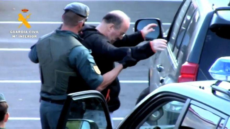 Detenido el exmiembro de ETA José Carlos Apeztegia Jaca