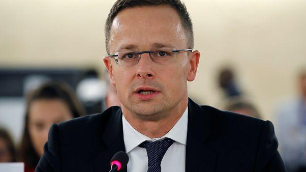 Hungarian Foreign Minister Szijjarto