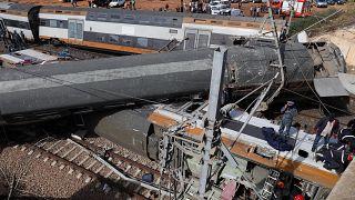 6 Menschen sterben bei Zugunglück in Marokko