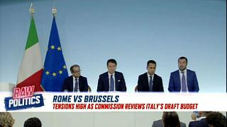 Tensions run high as Brussels reviews Italy's draft budget