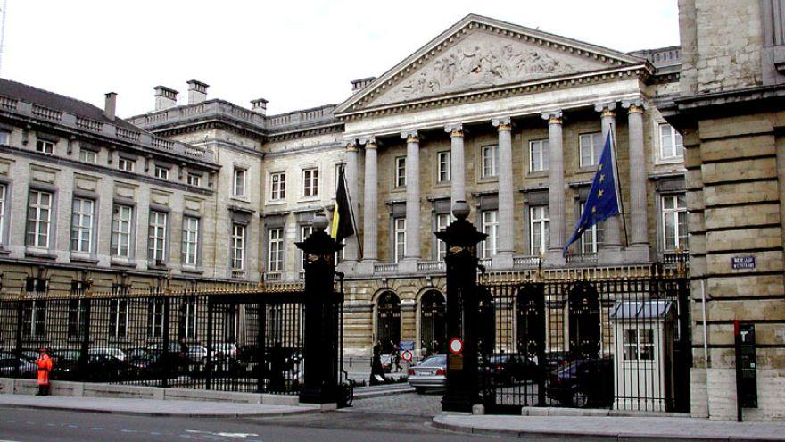 البرلمان البلجيكي في العاصمة بروكسل
