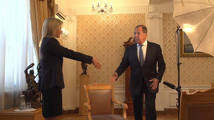 لافروف ليورونيوز: بريطانيا تحاول التأثير على السياسات الأوروبية ضد موسكو