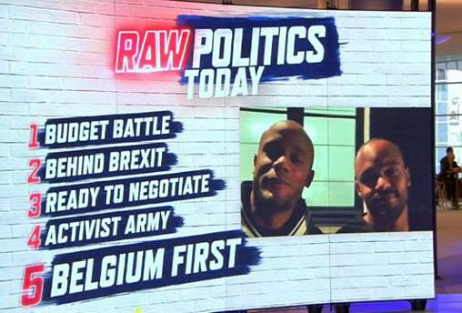 Raw Politics: Tensions rise over Italy's draft budget and high stakes behind Brexit summit