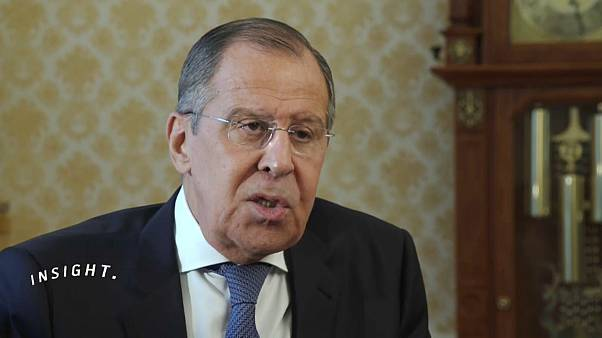 Ο Σεργκέι Λαβρόφ στο euronews