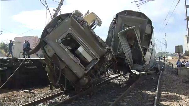 Vários mortos e feridos em acidente de comboio em Marrocos