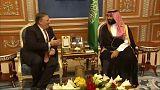 Trump kiállt a szaúdi koronaherceg mellett