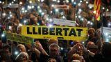 """Tausende Katalanen fordern Freiheit für """"politische Gefangene"""""""