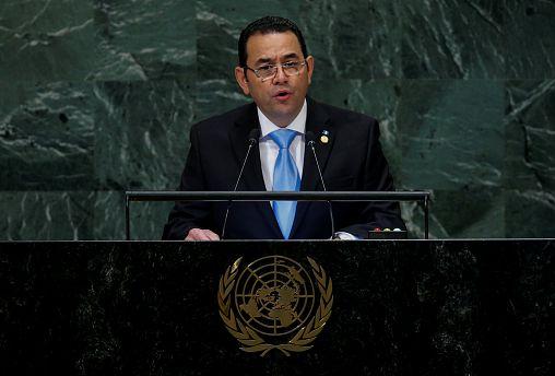 El Congreso de Guatemala mantiene el fuero al presidente Jimmy Morales