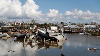 مئات المفقودين و27 قتيلا حصيلة ضحايا الإعصار مايكل في أربع ولايات
