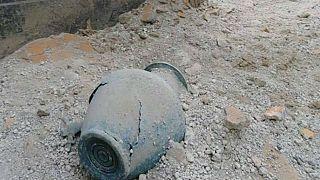El hallazgo de una inscripción cambia la historia de la erupción en Pompeya