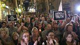 شاهد: أصدقاء الصحفية المالطية المغتالة دافني يطالبون العدالة بكشف الحقيقة