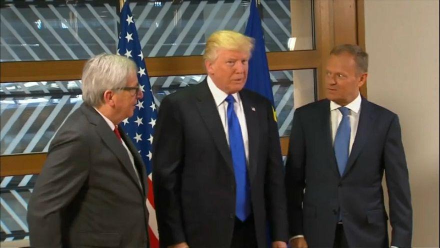 Crise de couple entre les États-Unis et l'Union Européenne