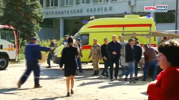 19 Tote, 50 Verletzte nach Attacke auf Berufsschule: Angreifer nimmt sich das Leben