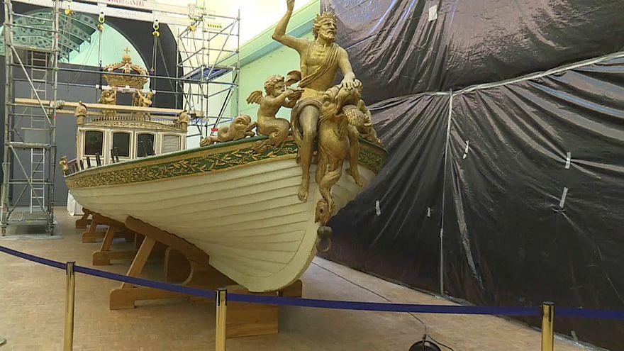 Napoleon's flagship begins journey home
