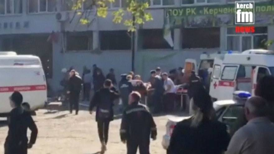 Au moins 17 morts dans l'attaque d'un collège de Crimée
