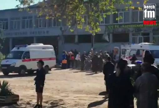 Crimea: Student 'shoots himself' after deadly bomb and gun rampage at college