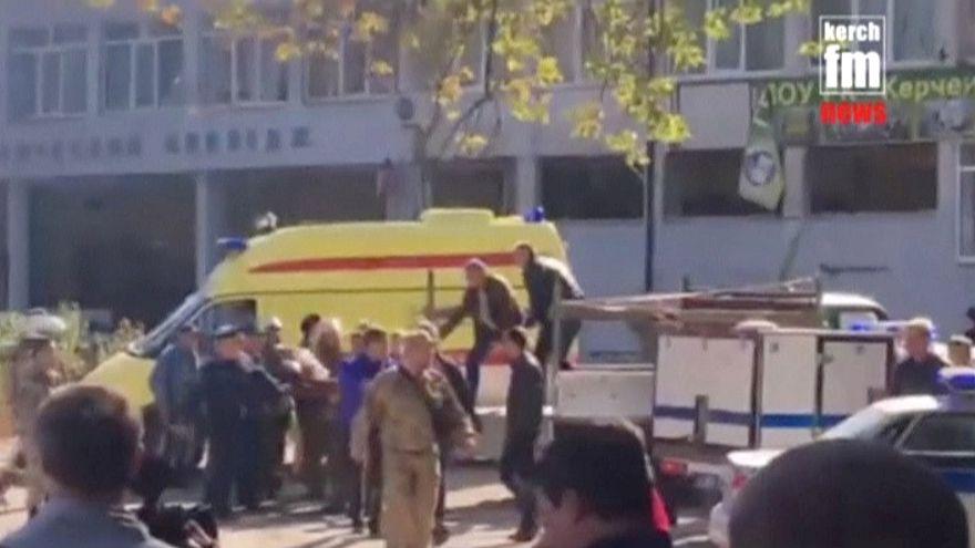 Κριμαία: «Μαζική δολοφονία» λένε οι αρχές - Τουλάχιστον 18 νεκροί